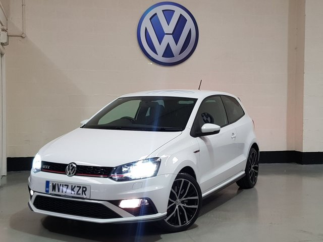 """USED 2017 17 VOLKSWAGEN POLO 1.8 GTI DSG 3d 189 BHP 1 Owner/Just serviced/17""""Alloys/Privacy Glass/Bluetooth"""