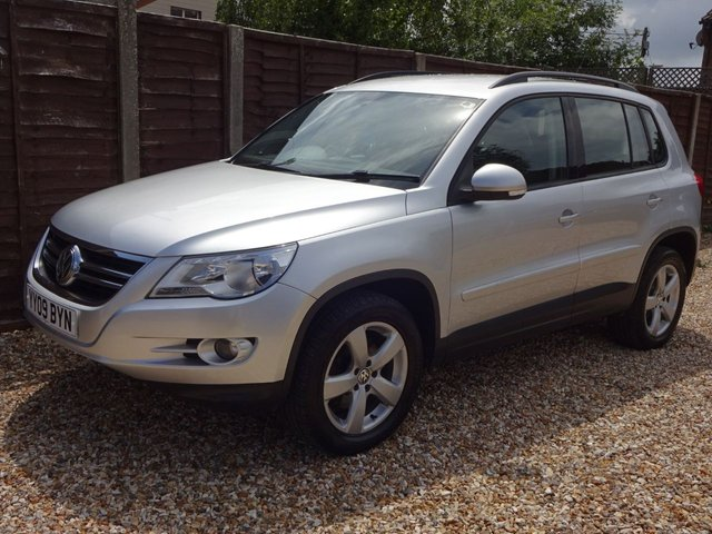 USED 2009 09 VOLKSWAGEN TIGUAN 2.0 TDi ESCAPE 4MOTION *CAMBELT DONE* LONG MOT, CAMBELT DONE, GREAT SPEC