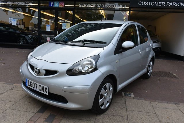 USED 2007 07 TOYOTA AYGO 1.0 VVT-I PLUS 5d 67 BHP 1 OWNER CAR, FULL TOYOTA SERVICE HISTORY, ONLY 15K MILES!