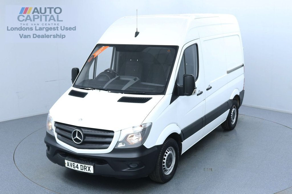 USED 2014 64 MERCEDES-BENZ SPRINTER 2.1 313 CDI RWD 130 BHP L2 H2 MWB Automatic Automatic Gearbox | UK Delivery