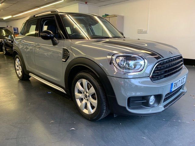 USED 2017 17 MINI COUNTRYMAN 2.0 COOPER D 5d 148 BHP FULL MINI SERVICE HISTORY, SAT NAV, HALF LEATHER, PARKING SENSORS, FULLY PREPARED FOR SALE