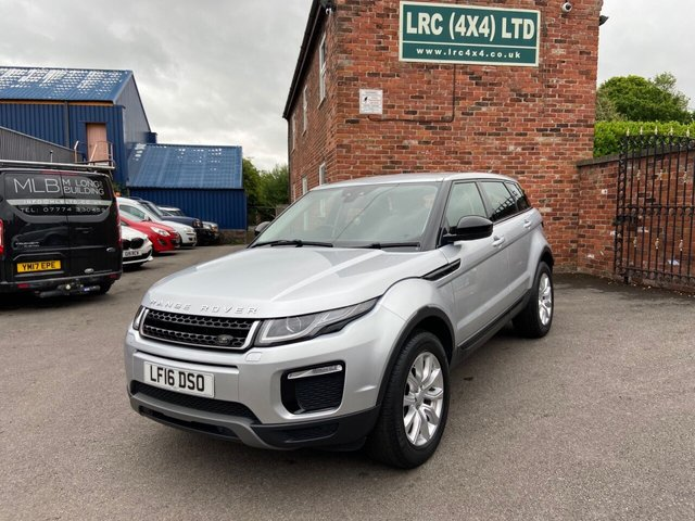 USED 2016 16 LAND ROVER RANGE ROVER EVOQUE 2.0 TD4 SE TECH 5d 177 BHP Lovely Evoque in INDUS Silver