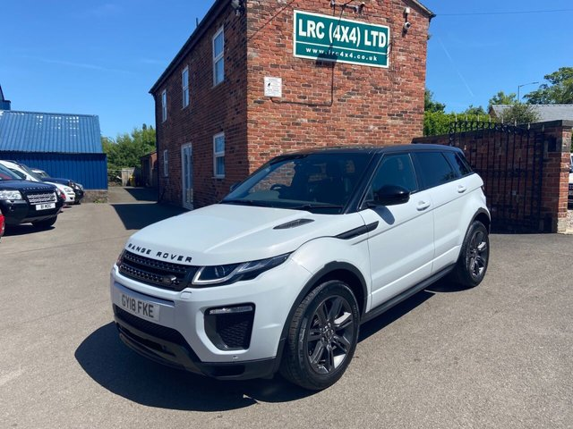USED 2018 18 LAND ROVER RANGE ROVER EVOQUE 2.0 TD4 LANDMARK 5d 177 BHP BEAUTIFUL EVOQUE LANDMARK