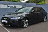 USED 2018 18 AUDI A6 1.8 AVANT TFSI BLACK EDITION 5d 188 BHP Huge Specification, £3195 Extras,  1 Owner, FSH....