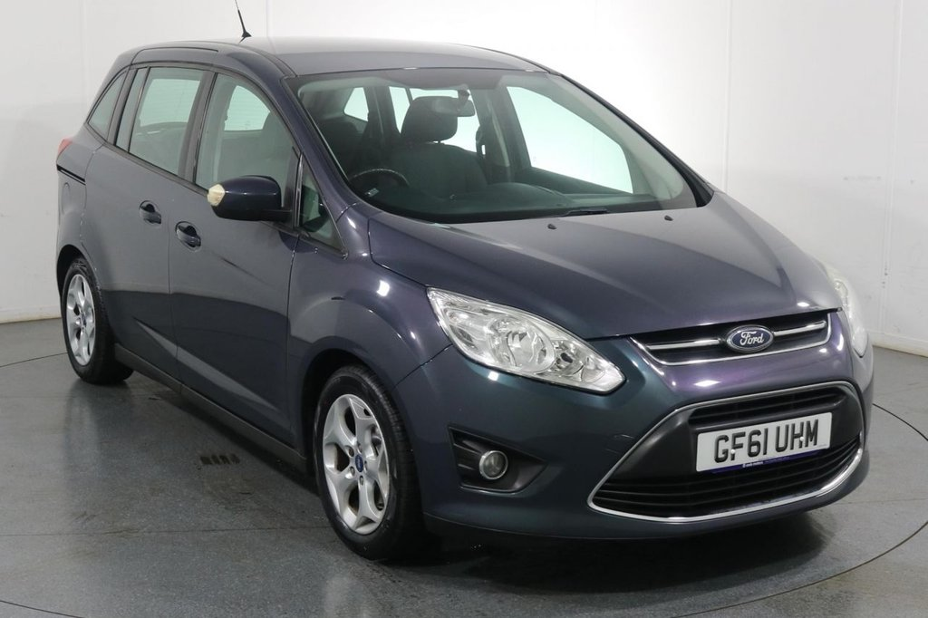 USED 2011 61 FORD GRAND C-MAX 1.6 ZETEC 5d 7 SEAT 124 BHP 2 OWNERS with 8 Stamp SERVICE HISTORY