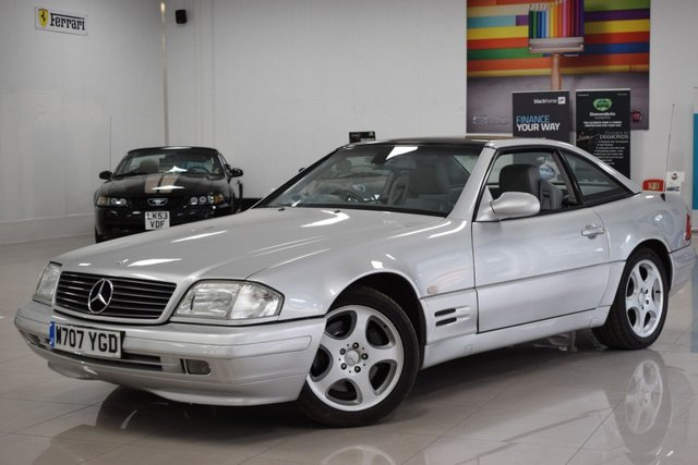USED 2000 W MERCEDES-BENZ SL 2.8 SL280 2d 201 BHP STUNNING RARE MERCEDES SL280! MUST BE SEEN!