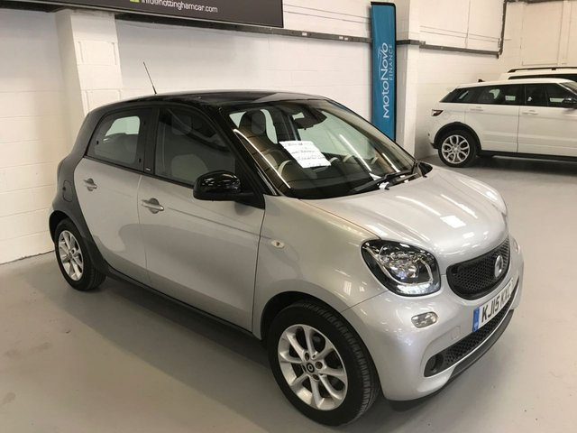 USED 2015 15 SMART FORFOUR 0.9 PASSION T 5d 90 BHP