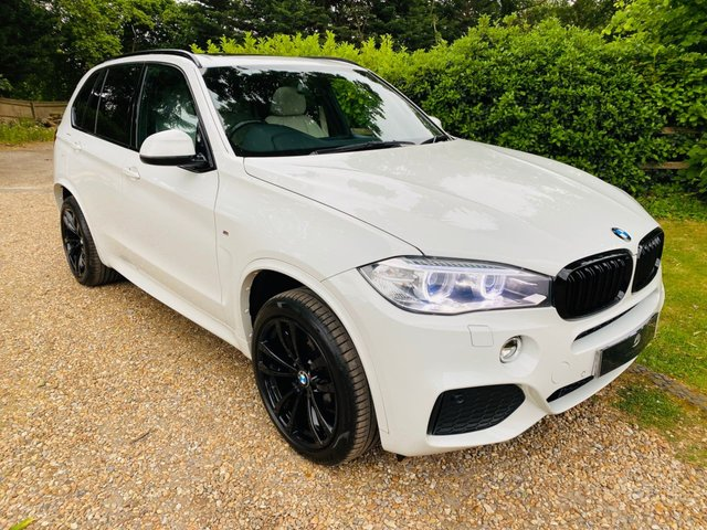 2016 16 BMW X5 3.0 XDRIVE30D M SPORT 5d 255 BHP