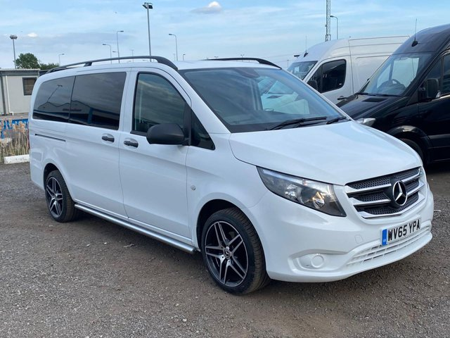 2015 65 MERCEDES-BENZ VITO 2.1 114 BLUETEC TOURER SELECT 5d 136 BHP