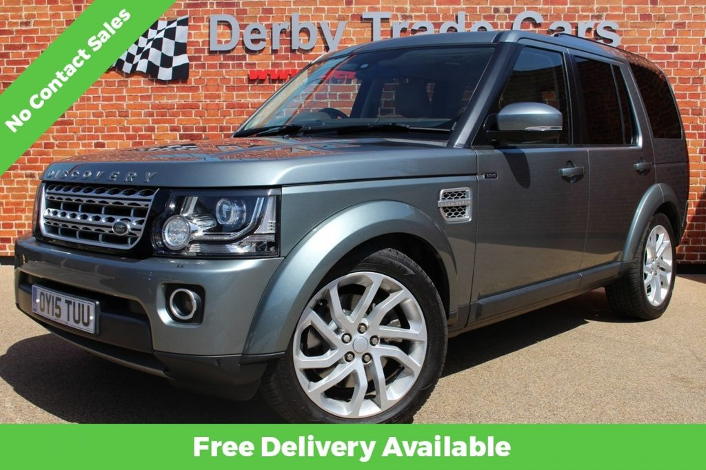 USED 2015 15 LAND ROVER DISCOVERY 3.0 SDV6 HSE 5d 255 BHP