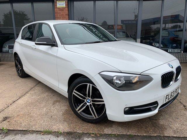 2013 63 BMW 1 SERIES 2.0 116D SPORT 5d 114 BHP