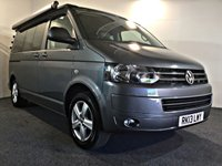 USED 2013 13 VOLKSWAGEN CALIFORNIA 2.0 BEACH TDI BLUEMOTION 139 BHP Just 1 Owner from New, Excellent Condition,   Full Service History, New Cam Belt just fitted