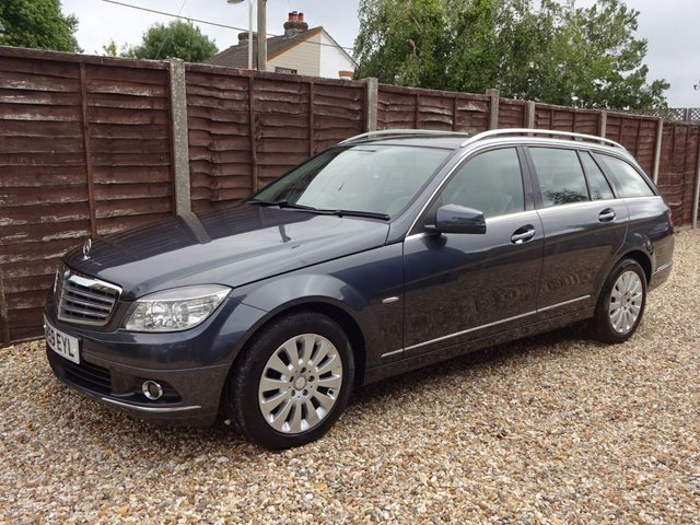 USED 2009 59 MERCEDES-BENZ C-CLASS C250 CDI BLUEEFFICIENCY ELEGANCE ESTATE LOOK AT THIS CHEAP DIESEL ESTATE, READY TO DRIVE AWAY