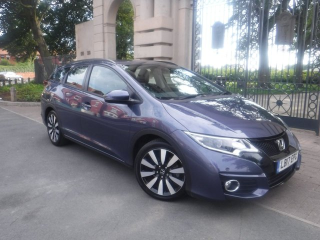USED 2017 17 HONDA CIVIC 1.8 I-VTEC SE PLUS TOURER 5d 140 BHP *** FINANCE & PART EXCHANGE WELCOME *** AIR/CON  ALLOY WHEELS ELECTRIC WINDOWS REMOTE CENTRAL LOCKING ELECTRIC MIRRORS