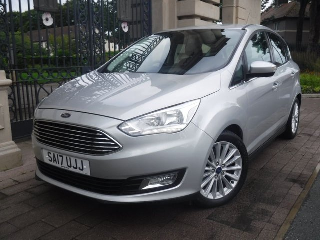 USED 2017 17 FORD C-MAX 1.5 TITANIUM TDCI 5d 118 BHP 1 OWNER*CRUISE*NAV*STOP/START*SERVICE HISTORY*BLUETOOTH*DAB*A/C