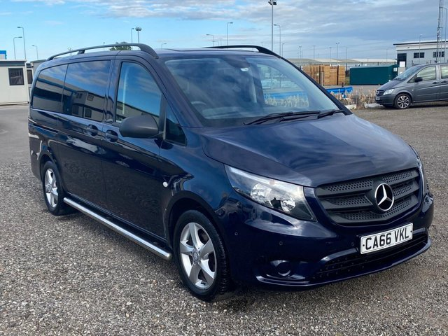 2017 66 MERCEDES-BENZ VITO 2.1 116 BLUETEC TOURER SELECT 5d 163 BHP