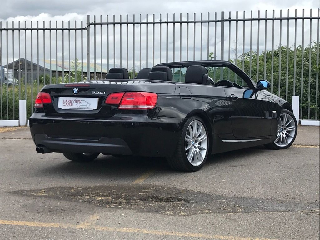 USED 2007 07 BMW 3 SERIES 3.0 325I M SPORT 2d 215 BHP ** CONVERTIBLE **