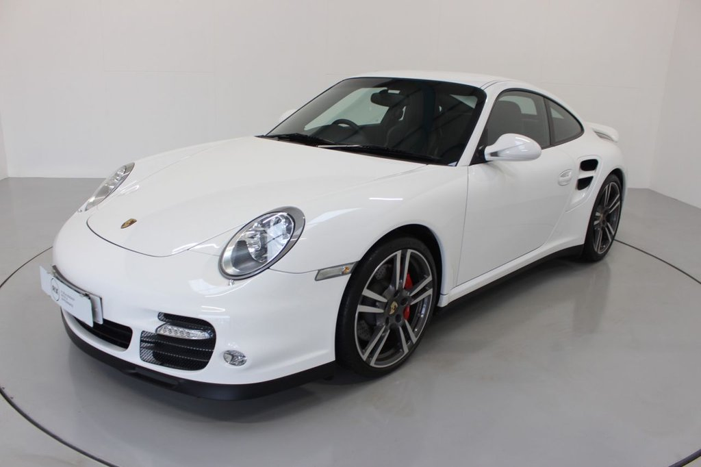 USED 2012 12 PORSCHE 911 997 3.8 TURBO PDK 3d AUTO 500 BHP, -MODERN CLASSIC-IMMACULATE LOW MILEAGE EXAMPLE-ELECTRIC SUNROOF-HEATED BLACK LEATHER-LAUNCH CONTROL-PADDLE SHIFT-ADAPTIVE SPORTS SEATS-PARK ASSIST-PORSCHE EMBOSSED HEADREST-SPORT CHRONO PACKAGE