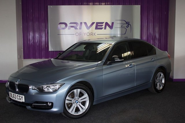 2014 63 BMW 3 SERIES 2.0 318D SPORT 4d 141 BHP