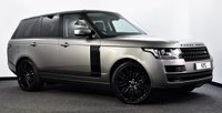 """USED 2016 66 LAND ROVER RANGE ROVER 3.0 TD V6 Vogue Auto 4WD (s/s) 5dr Pan Roof, Black Pack, 22""""s, TV"""