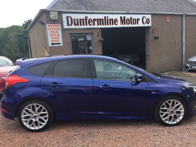 USED 2018 18 FORD FOCUS 1.0 ST-LINE 5d 139 BHP ++1 OWNER+VERY LOW MILEAGE++