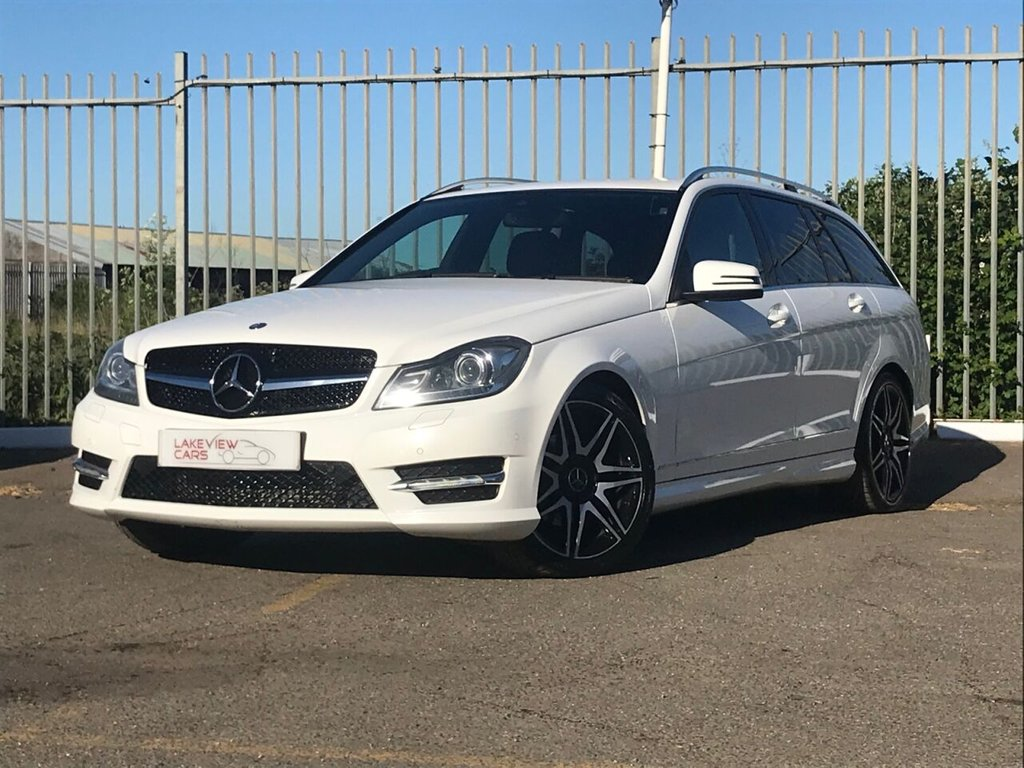 USED 2012 62 MERCEDES-BENZ C-CLASS 2.1 C250 CDI BLUEEFFICIENCY AMG SPORT PLUS 5d 202 BHP