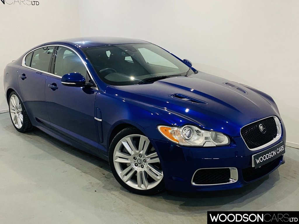 USED 2011 60 JAGUAR XF 5.0 V8 R 4d 510 BHP Full Jaguar Service History / 1 Previous Owner / 510 BHP / Heated + Cooling Leather Seats / Sat Nav / Bluetooth