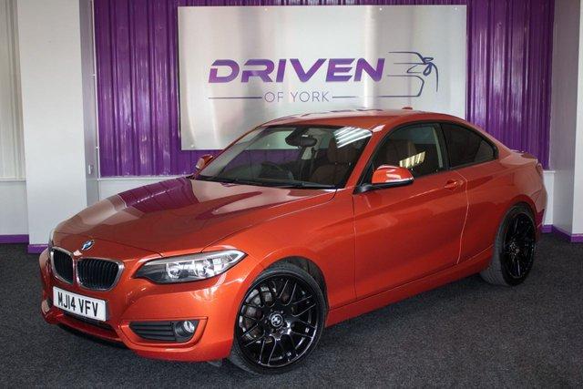 2014 14 BMW 2 SERIES 2.0 218D SE 2d 141 BHP