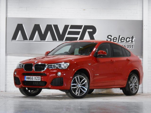2016 66 BMW X4 2.0 XDRIVE20D M SPORT 4d 188 BHP
