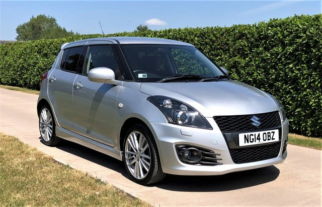 USED 2014 14 SUZUKI SWIFT 1.6 SPORT 5d 136 BHP, NOW SOLD - MORE REQUIRED - CASH PAID FOR YOUR SWIFT SPORT