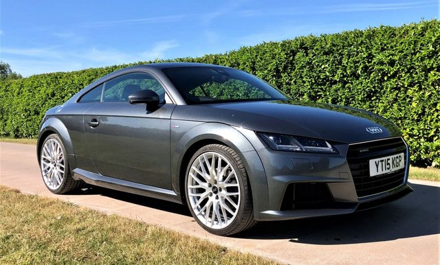 USED 2015 15 AUDI TT 2.0 TFSI QUATTRO S LINE 2d 227 BHP, NOW SOLD - MORE NEEDED - CASH PAID FOR YOUR TT & TTS