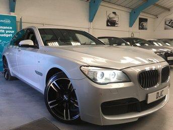 2013 BMW 7 SERIES 3.0 730D M SPORT 4d 255 BHP