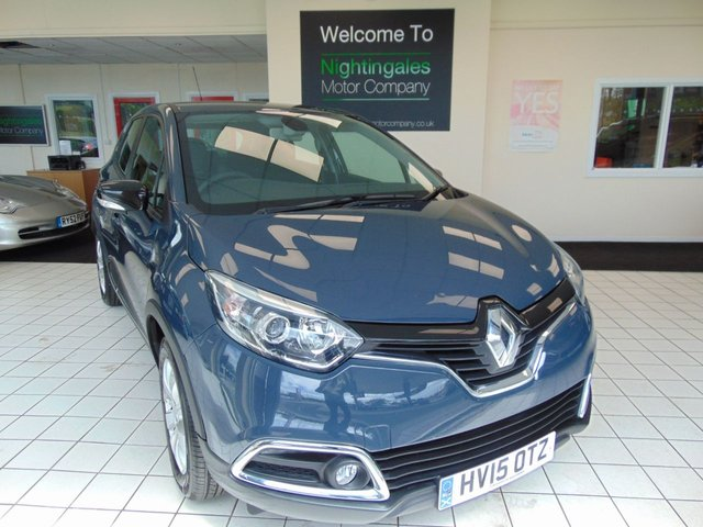 USED 2015 15 RENAULT CAPTUR 1.5 EXPRESSION PLUS ENERGY DCI S/S 5d 90 BHP FULL SERVICE HISTORY + FEB 2021 MOT + AIR CONDITIONING + CRUISE CONTROL + ZERO ROAD TAX + ISOFIX + AIR CONDITION + REMOTE CENTRAL LOCKING + ELECTRIC WINDOWS + ABS + PRIVACY GLASS + DAYTIME LED RUNNING LIGHTS + AUTO WIPERS + GREAT MPG