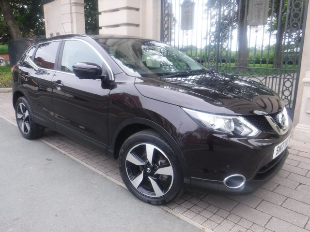 USED 2017 17 NISSAN QASHQAI 1.6 N-CONNECTA DCI XTRONIC 5d 128 BHP *1OWNER*FULL SERVICE HISTORY*SAT NAV*360 CAMERAS*KEY LESS ENTRY*BLUETOOTH*