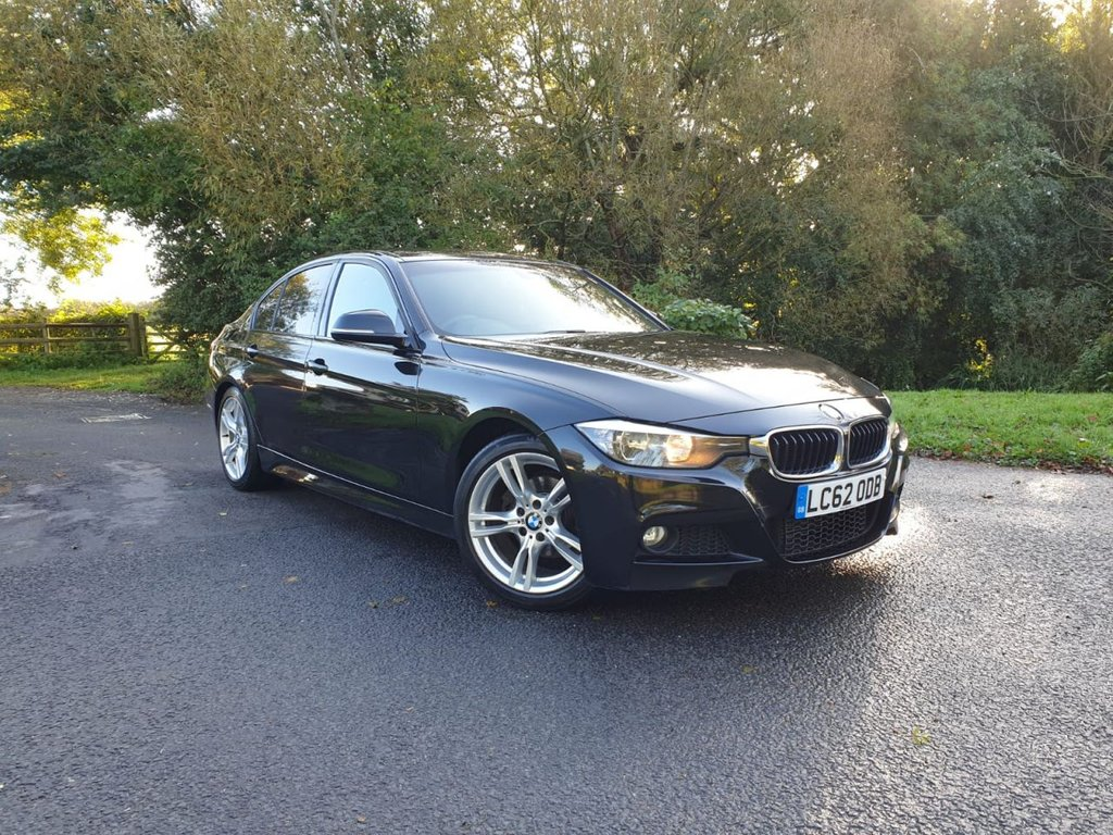 USED 2012 62 BMW 3 SERIES 2.0 318D M SPORT 4d 141 BHP