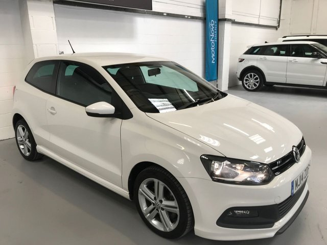USED 2014 14 VOLKSWAGEN POLO 1.2 R LINE TSI 3d 104 BHP