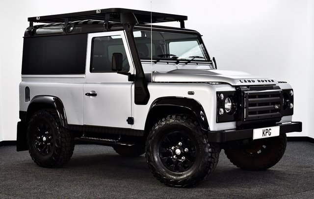 USED 2011 11 LAND ROVER DEFENDER 90 2.4 TDi X Tech Limited Edition Hard Top 3dr **NO VAT** Stunning One Off !