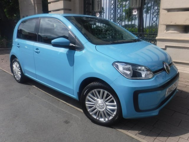 USED 2018 18 VOLKSWAGEN UP 1.0 MOVE UP 5d 60 BHP *AIR CON*BLUETOOTH*AUX SOCKET*DAB RADIO*FINANCE ARRANGED*PART EXCHANGE WELCOME*