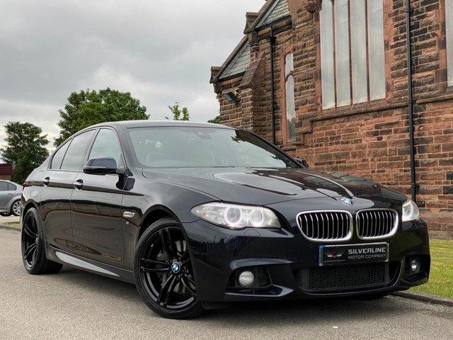 2015 15 BMW 5 SERIES 3.0 535D M SPORT 4d 309 BHP