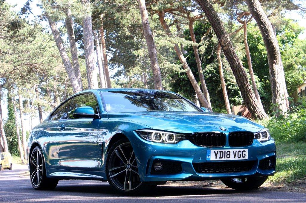 USED 2018 18 BMW 4 SERIES 2.0 420D M SPORT 190BHP