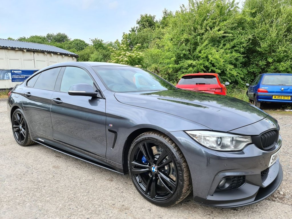 USED 2016 66 BMW 4 SERIES 3.0 430D M SPORT GRAN COUPE 4d 255 BHP