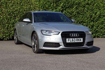 2013 AUDI A6 2.0 TDI BLACK EDITION 4d 175 BHP £11490.00