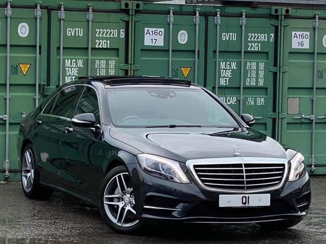 USED 2016 66 MERCEDES-BENZ S-CLASS 3.0 S350d AMG Line L 9G-Tronic Plus 4dr Luxury/AMG/PanRoof/ParkAssist