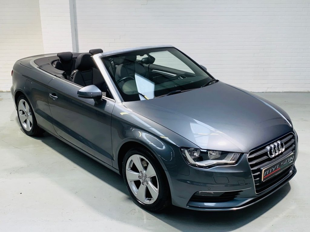 USED 2014 14 AUDI A3 1.4 TFSI SPORT 2d 139 BHP Ultra Low Mileage Convertible, Bang & Olufsen Advanced Audio System