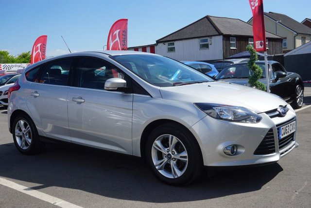 USED 2013 63 FORD FOCUS 1.6 ZETEC 5d 104 BHP JUST ARRIVED CLEAN EXAMPLE