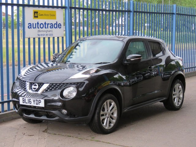 USED 2016 16 NISSAN JUKE 1.2 N-CONNECTA DIG-T 5dr Sat nav DAB Cruise Privacy Alloys ULEZ Compliant Finance arranged Part exchange available Open 7 days ULEX Compliant