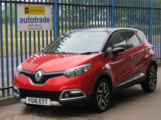 USED 2016 16 RENAULT CAPTUR 0.9 SIGNATURE NAV TCE 5dr Leather Sat nav Cruise Privacy ULEZ Compliant Finance arranged Part exchange available Open 7 days ULEX Compliant, Reverse Camera