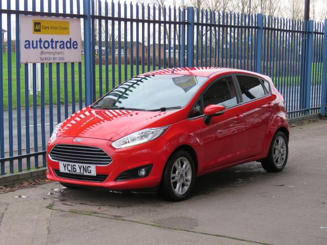 USED 2016 16 FORD FIESTA 1.2 ZETEC 5dr DAB Bluetooth Alloys Privacy ULEZ Compliant Finance arranged Part exchange available Open 7 days ULEX Compliant
