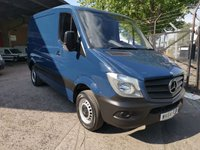 2014 MERCEDES-BENZ SPRINTER 213 CDi RARE SWB Low roof *BLUETOOTH*ONE OWNER* £10000.00