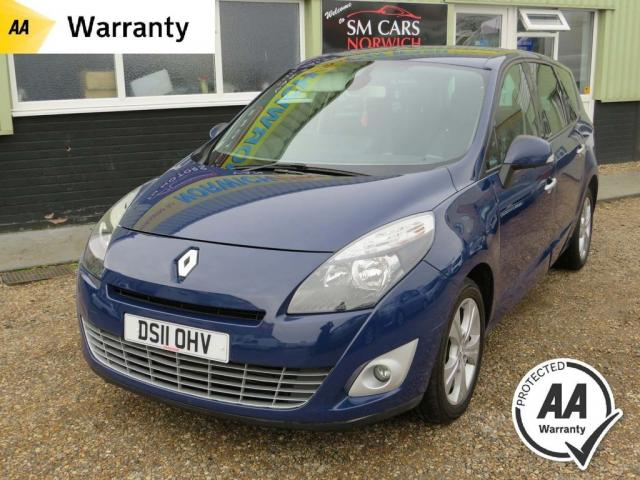 2011 11 RENAULT SCENIC 1.9 DYNAMIQUE TOMTOM DCI 5d 130 BHP